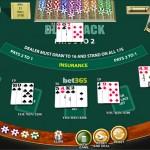 Bet365 Online Blackjack Surrender